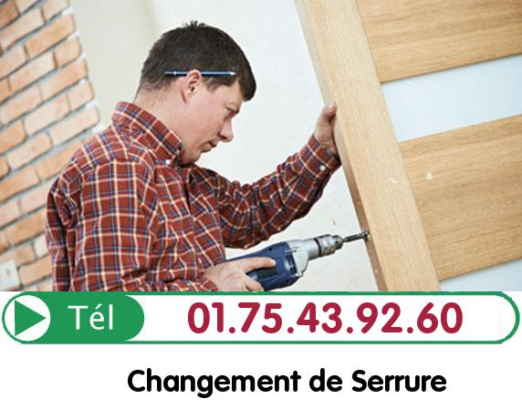 Changement de Cylindre Tremblay en France 93290